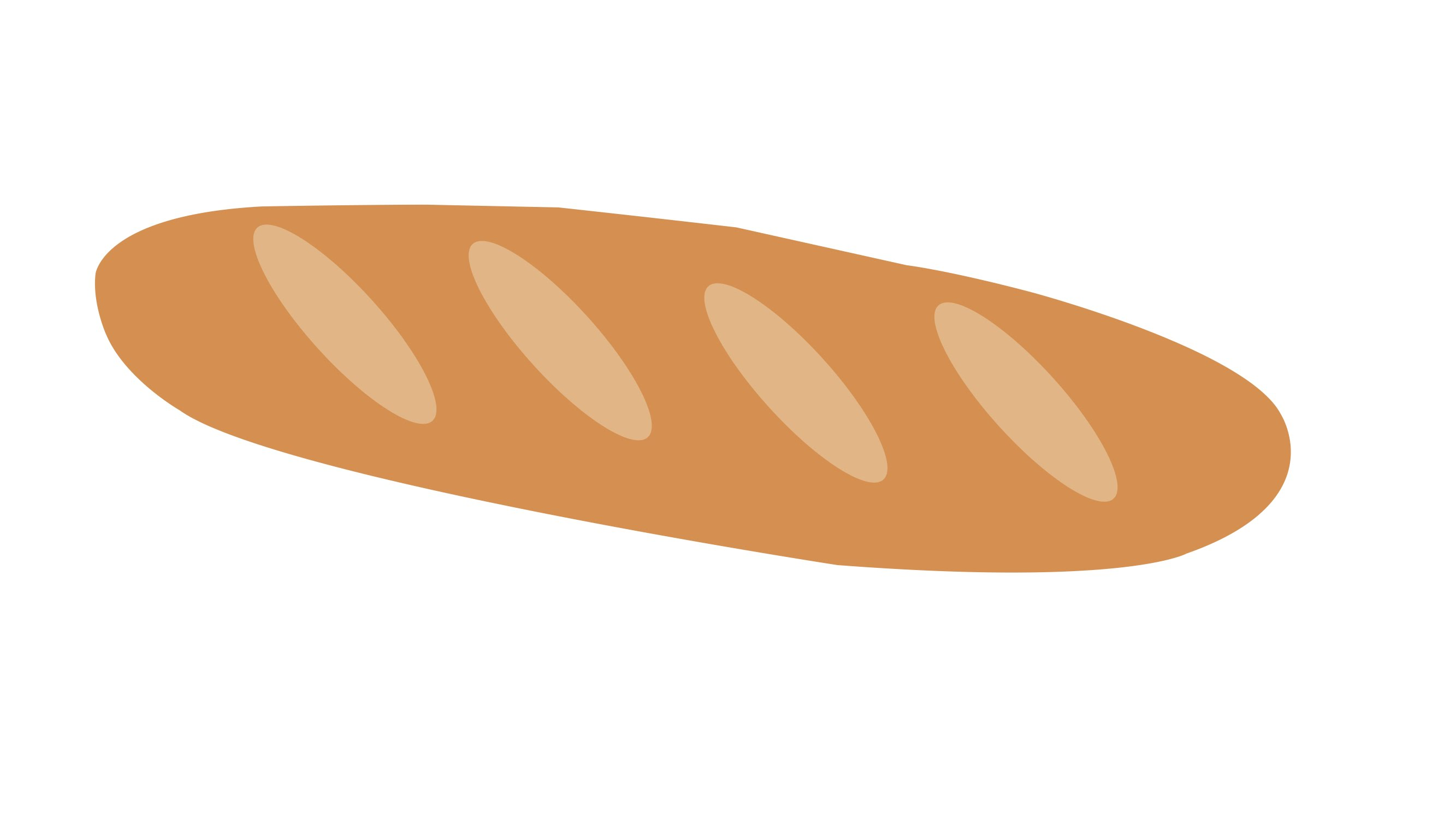 Drawn bread loaf bread How Bread draw a to