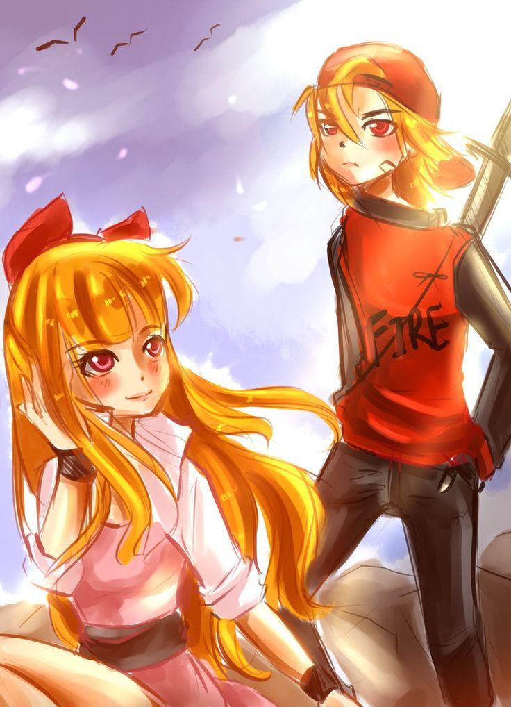 Drawn brick anime Blossom on Brick 152 Brick