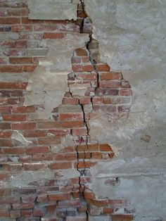 Drawn brick crack Backdrop Printed brick DSMc /