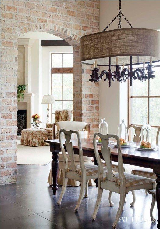 Drawn brick distressed Dining Room Furniture images best