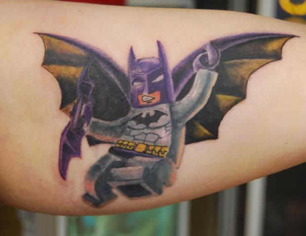 Drawn brick tatto Job amazing artistic 14 a