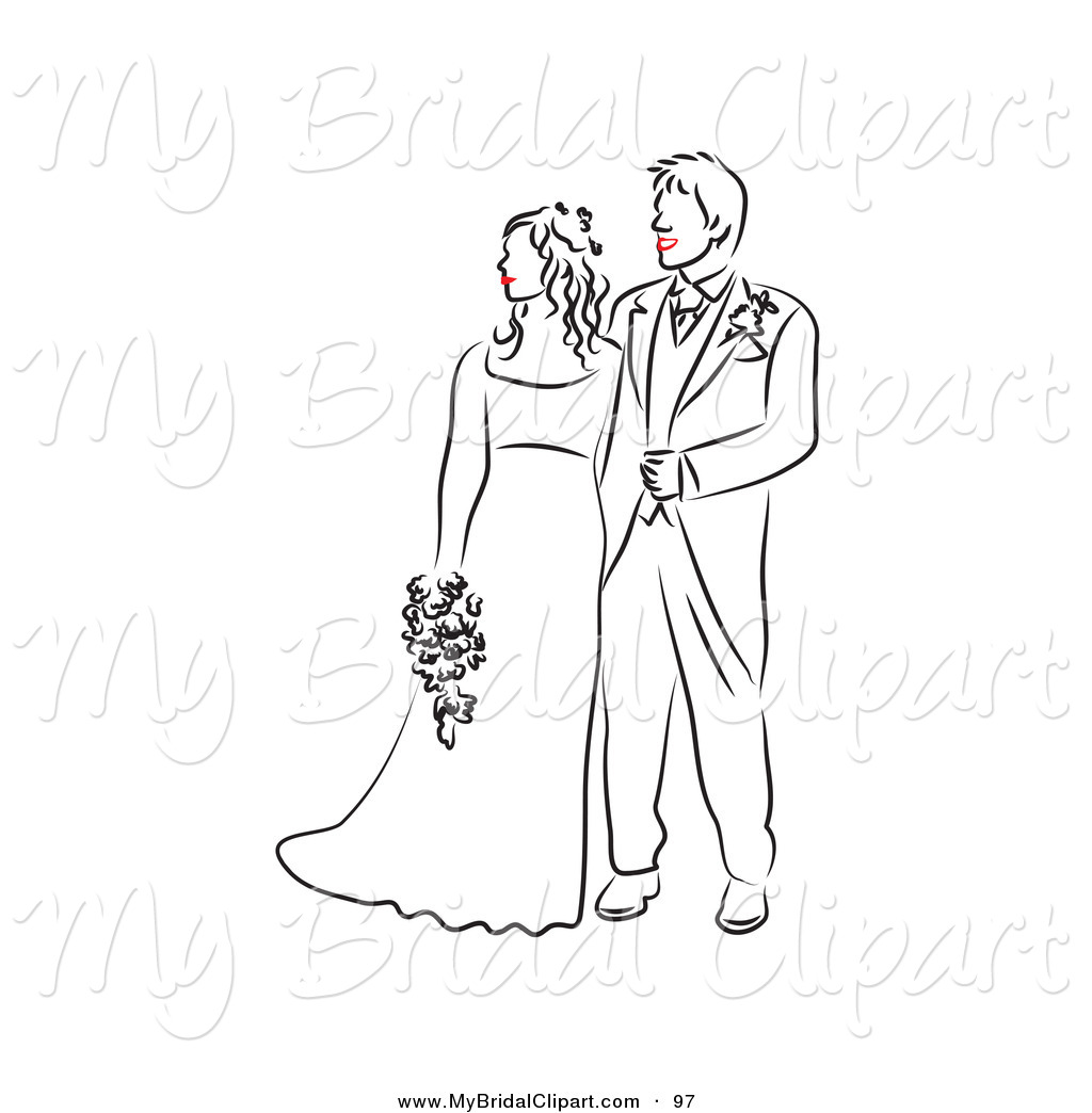 Zombie clipart bride and groom And on Bride Clipart Clipart