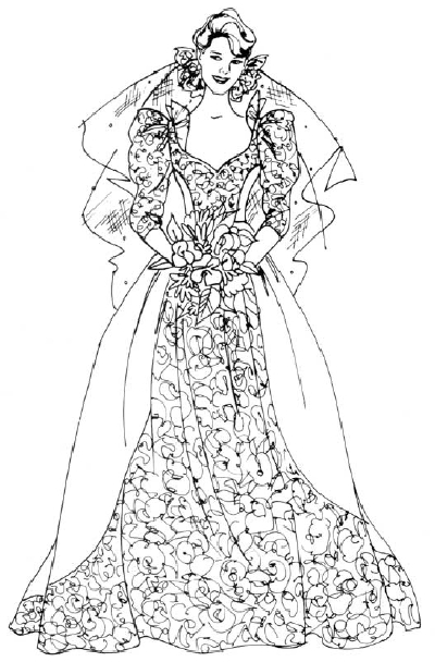 Drawn bride a line Draw How HowStuffWorks Steps Bride