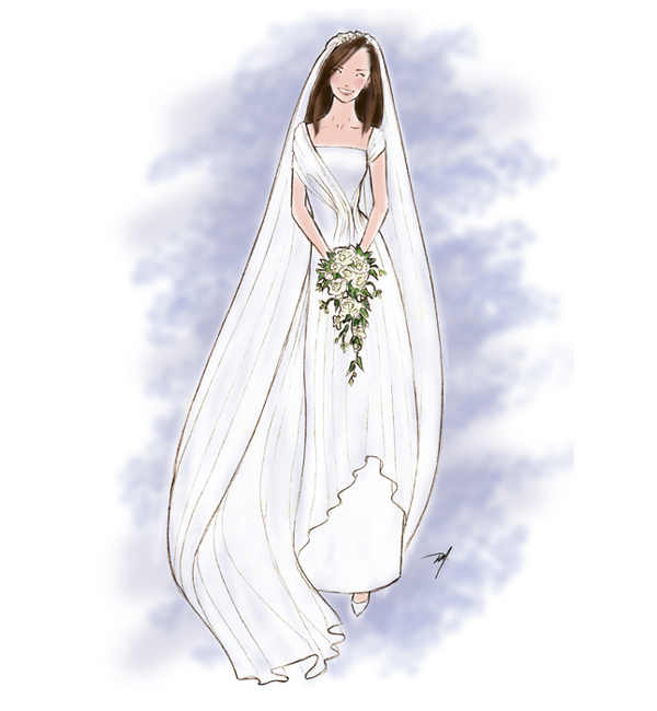 Drawn bride Final – princess a Fashion