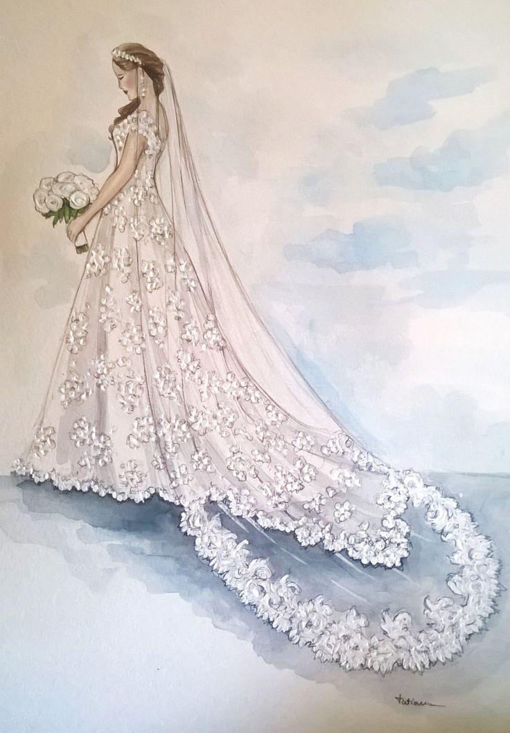 Drawn bride bridal Best Wedding Pinterest on ideas