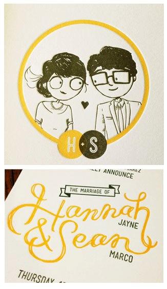 Drawn bride cute smile Cute Verbal invitations Vomit: designed