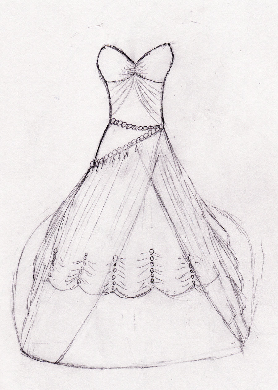 Drawn wedding dress easy draw Drawings Drawings 70 Mother Wedding