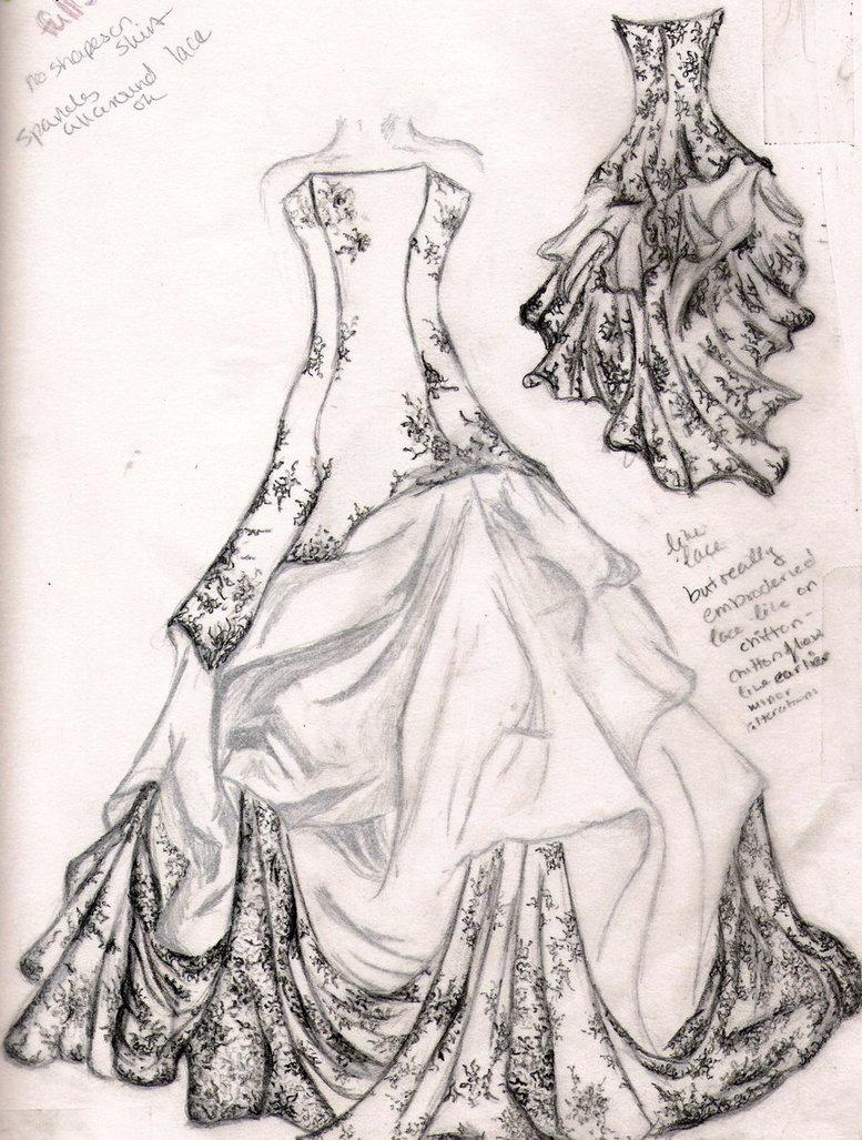 Drawn bride prom dress Desing dress drawing Wedding Search