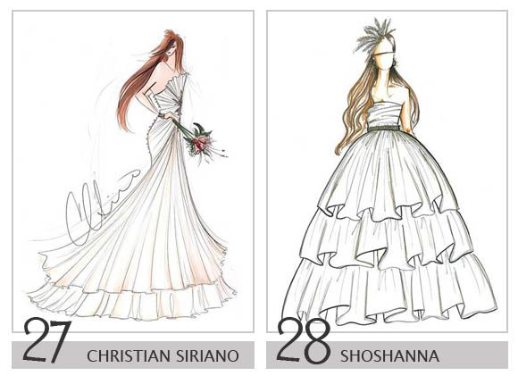 Drawn bride royal dress Design on dresses 22 Shoshanna