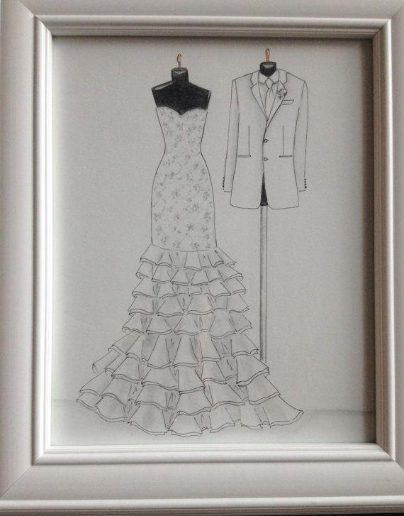 Drawn bride wedding anniversary Best drawing Pinterest 25+ on