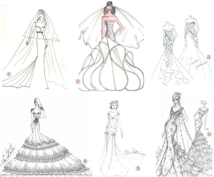 Drawn gown dress sketch Images Drawn a 25 Drawing
