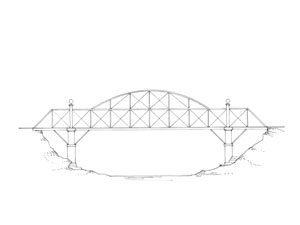 Drawn bridge – Artist Large cn013_v03 Bridge