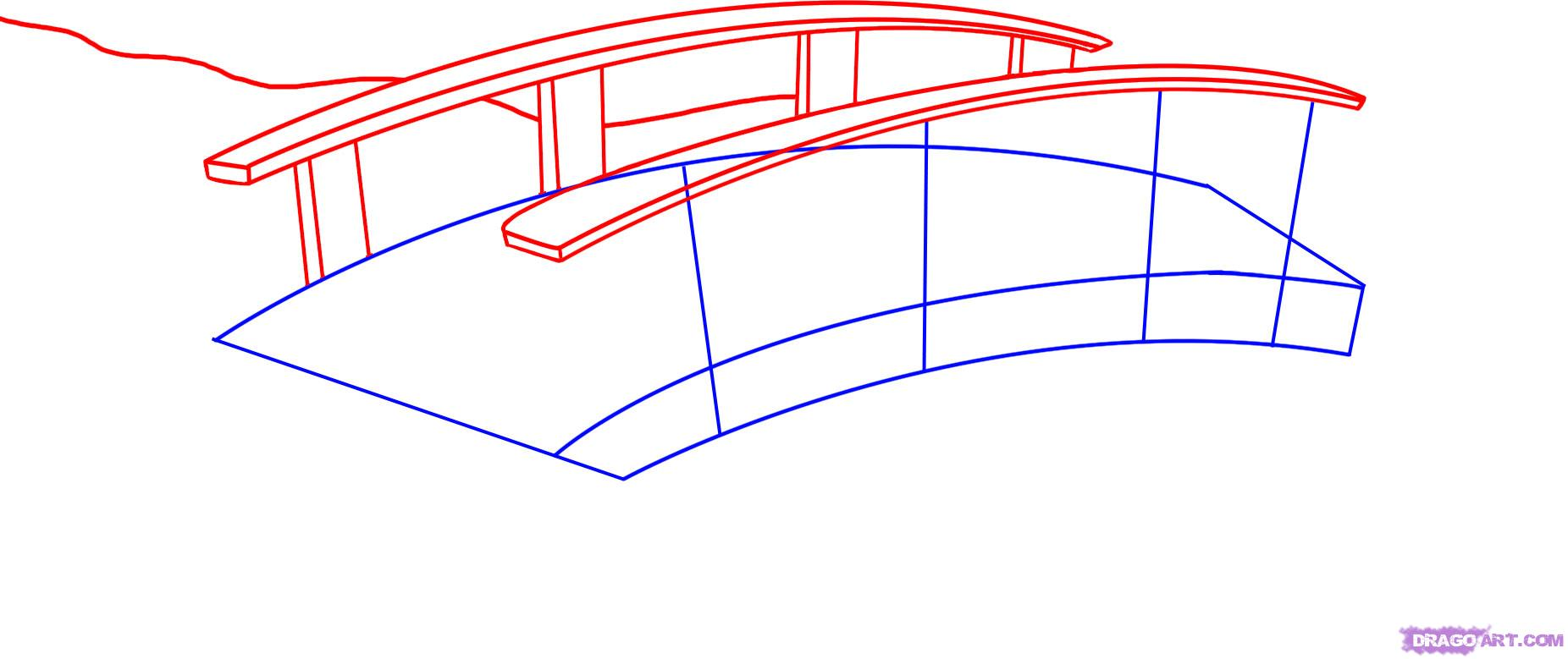 Drawn bridge By step Bridges How 2