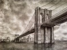 Drawn bridge For Google  Bridge Brooklyn