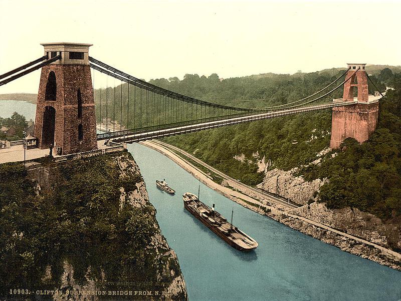 Drawn bridge isambard kingdom brunel /prof/sijpkes/abc 2005/iron structures clifton of