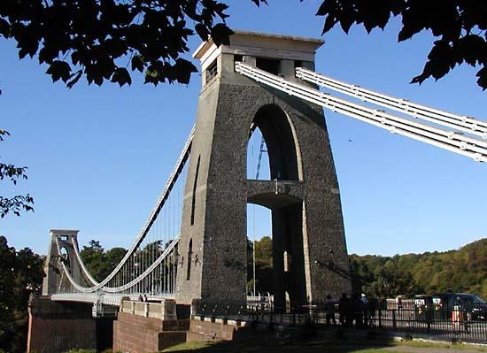 Drawn bridge isambard kingdom brunel Isambard Brunel by Avon Bristol