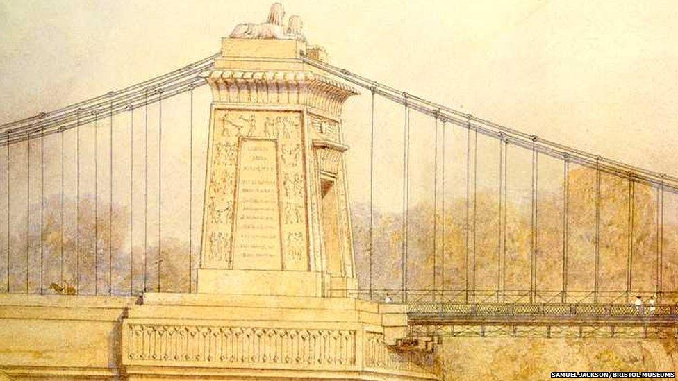 Drawn bridge isambard kingdom brunel Years Suspension Brunel's Bridge: bridge