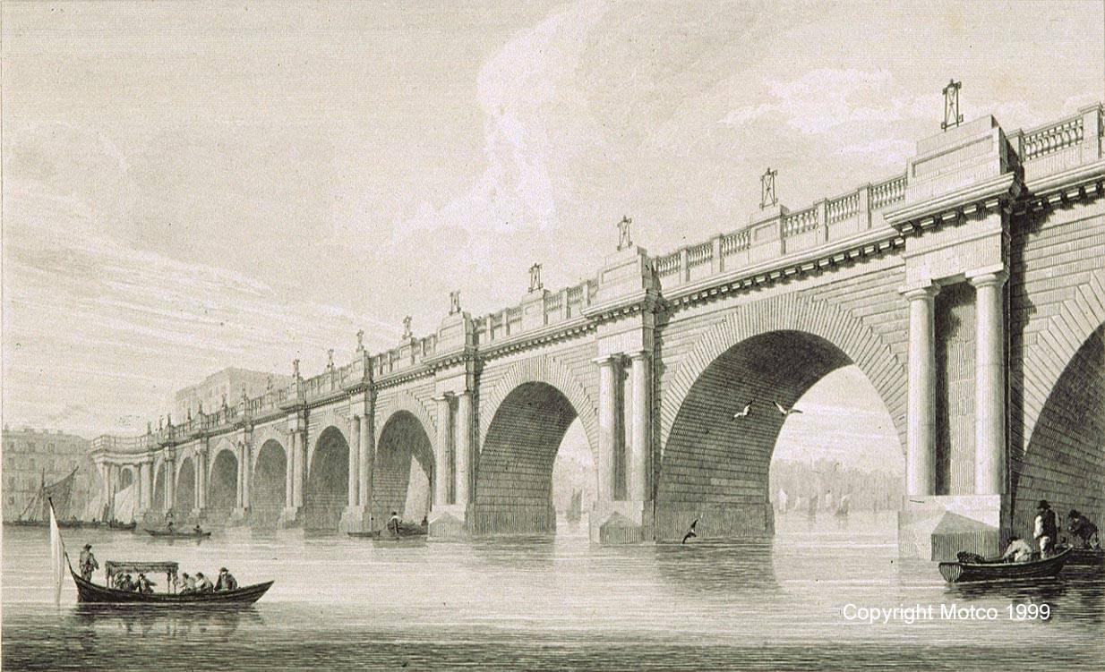 Drawn bridge london waterloo MOTCO Bridge 1814 GLIDE SMOOTH