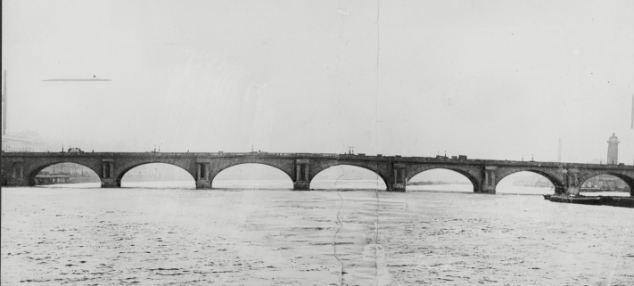Drawn bridge london waterloo Replaced  The the bridge