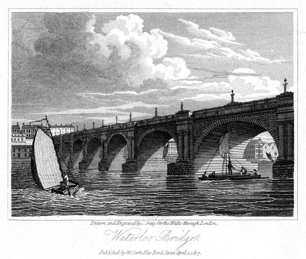 Drawn bridge london waterloo & by London of Waterloo