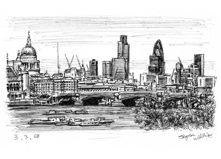 Drawn bridge london waterloo MBE by of Waterloo of