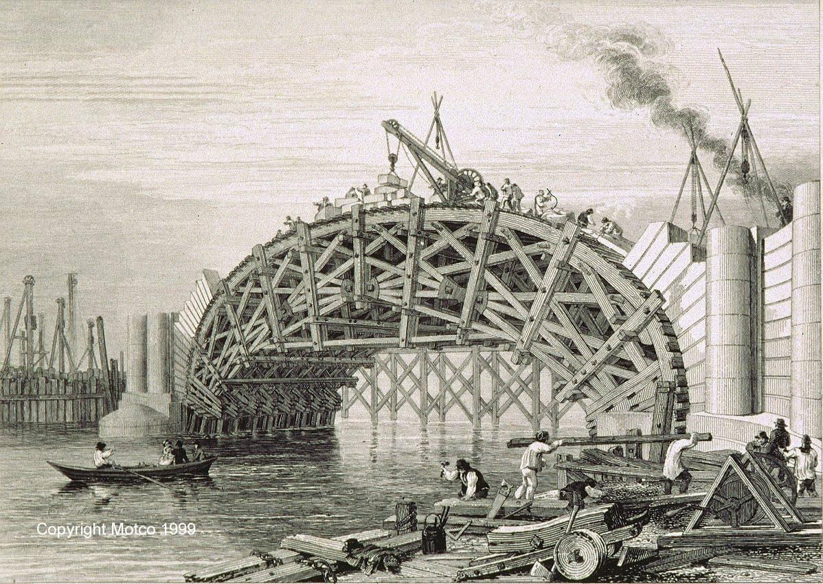 Drawn bridge london waterloo MOTCO Bridge 1815 GLIDE SMOOTH