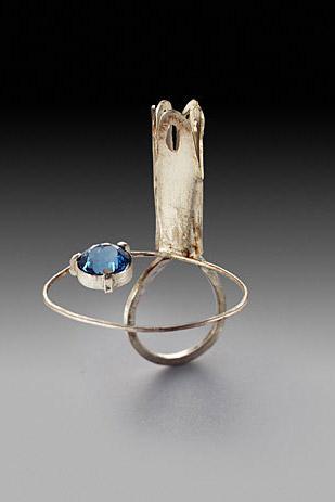 Drawn bridge love Jewellery zircon Susan Sterling we