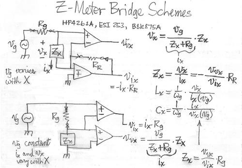 Drawn bridge schematic Dennis Planet Meter Lower Figure
