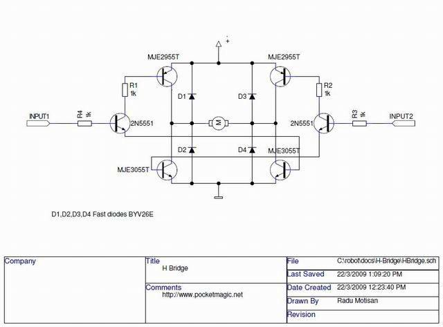 Drawn bridge schematic Electrical bridge enter here to