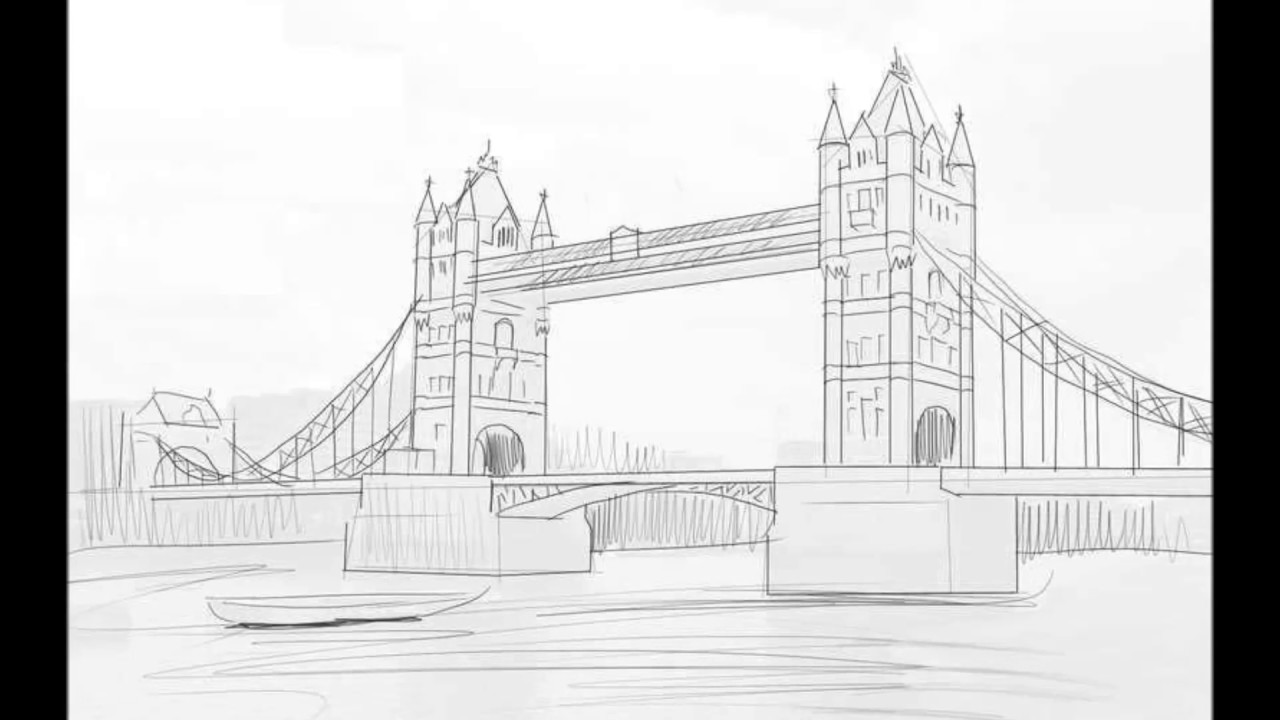 Drawn bridge tower bridge Bridge To Draw How How