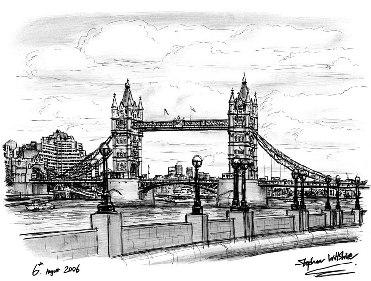 Drawn bridge tower bridge And Original 2006 2006 Tower