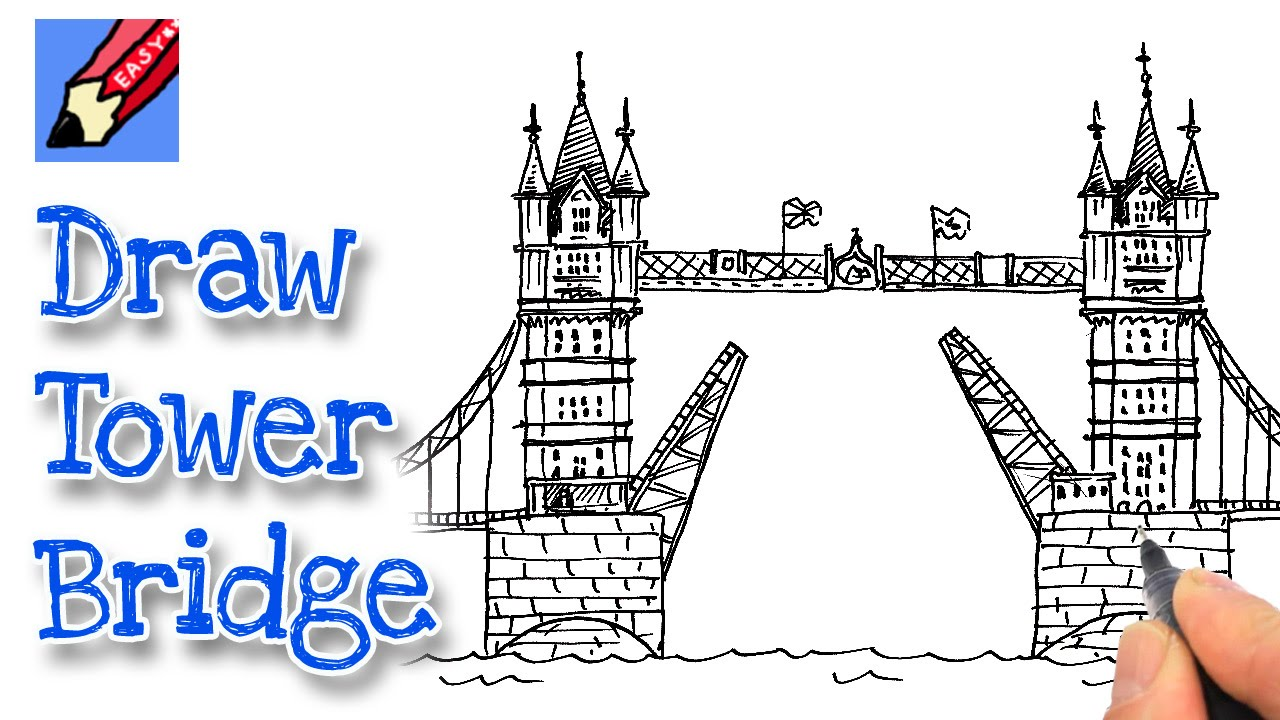 Drawn bridge tower bridge London's How draw Bridge How