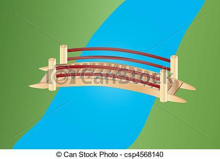 Bridge clipart water clipart Clipart Bridge Over cliparts Bridge