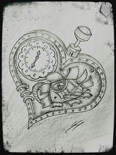 Drawn broken heart depression #7