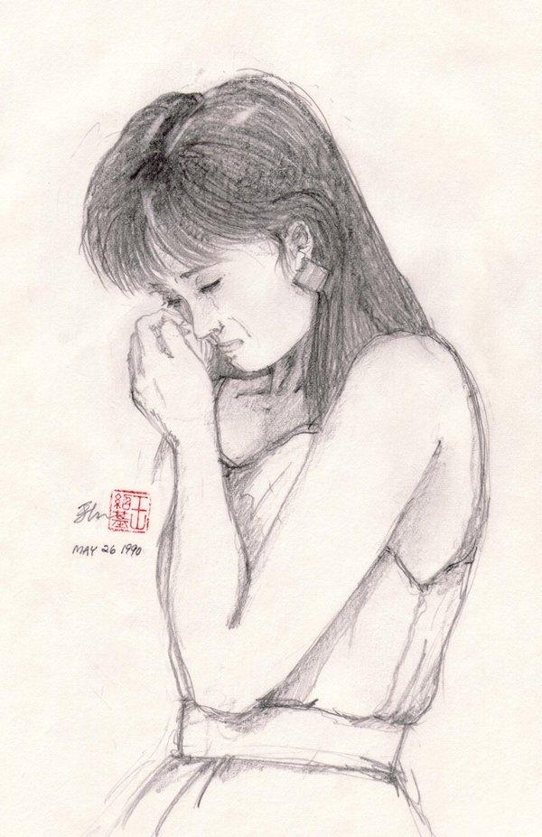 Drawn broken heart hearted #3
