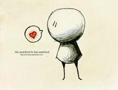 Drawn broken heart poor #3
