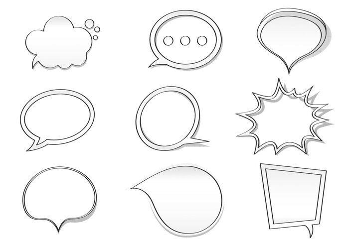 Drawn bubble Photoshop  Bubble Pack Hand