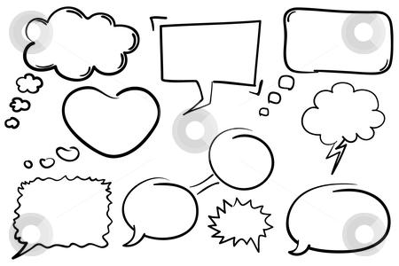 Drawn bubble chat box Bubbles vector Bubbles Chat Chat