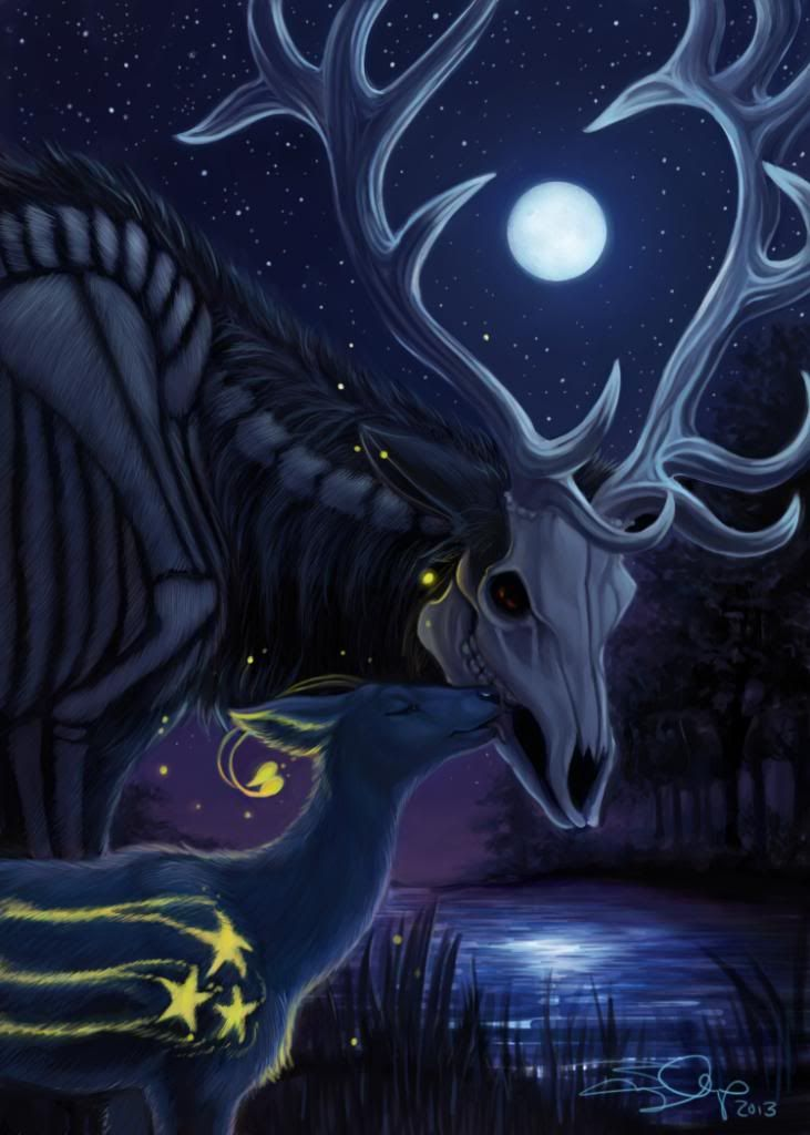 Drawn buck the endless forest 151 Endless The best images