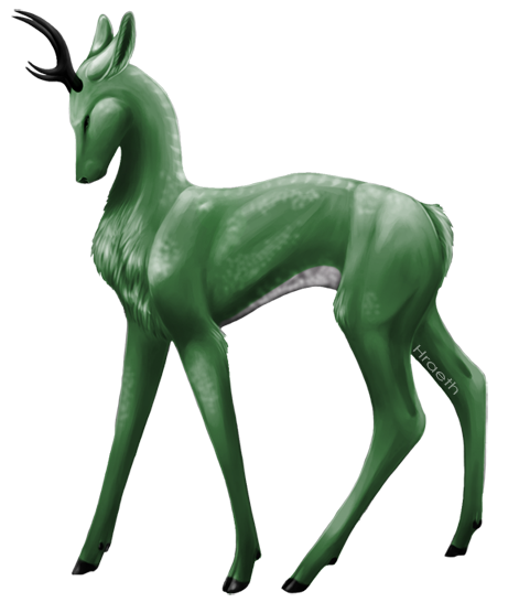 Drawn buck the endless forest Forest : Riza Spirit The