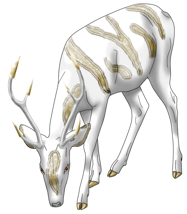 Drawn buck the endless forest Endless blog Junalia's Forest The