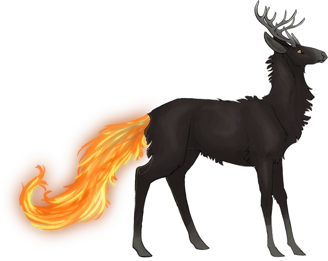 Drawn buck the endless forest The for lots I with