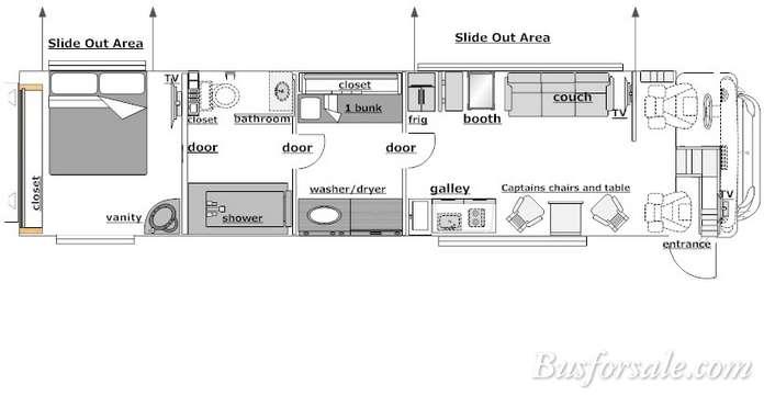 Drawn bud coach bus Prevost Plan: 2007 sale and