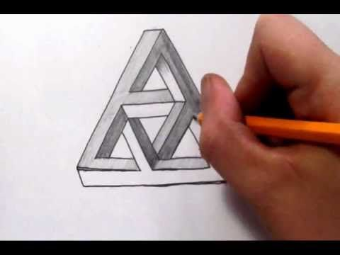 Drawn illusion impossible cube · 73 on Draw To