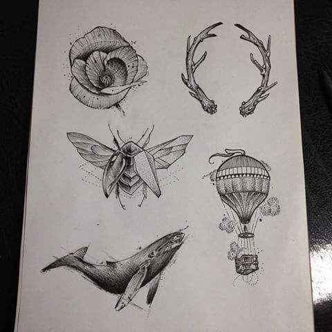 Drawn bugs dotwork Photos #draw (@danielrozo_tattoo) #dotwork #sketch