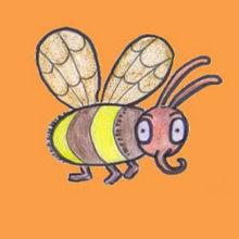 Drawn bugs kid SNAIL kids How drawing BEE