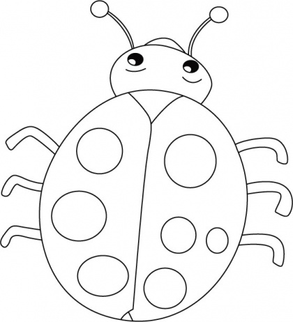 Drawn bugs kid Smiles Coloring Pages images pages
