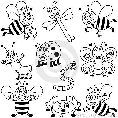 Drawn bugs kid Insects best Kids for Insects