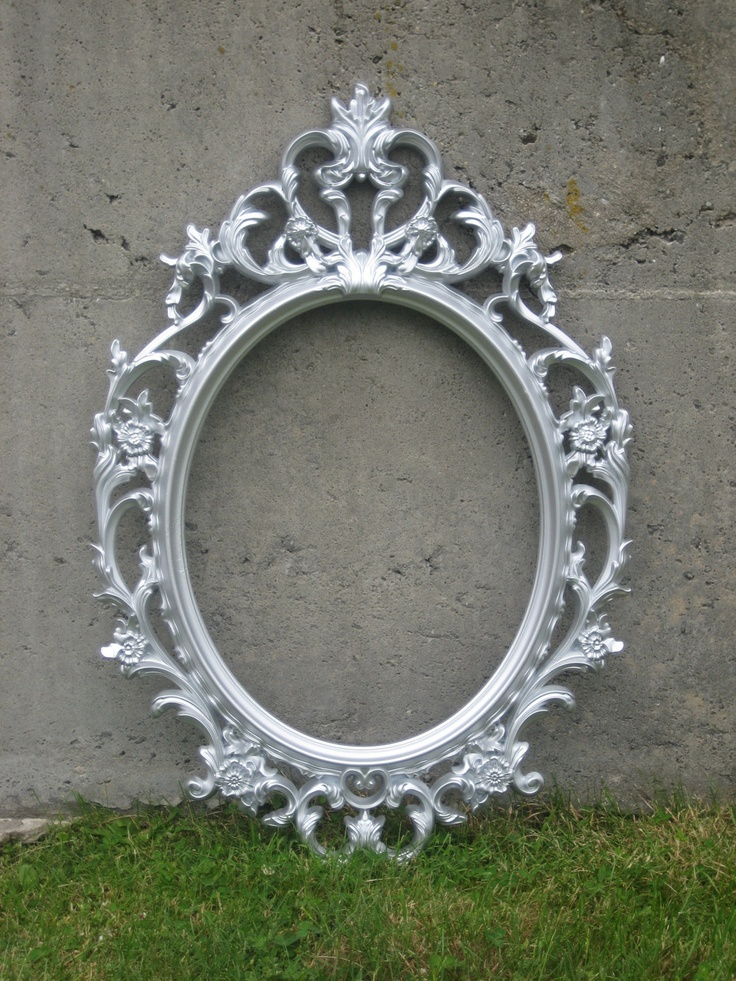 Drawn bugs ornate mirror Pewter Frame 81 Mirror Pinterest