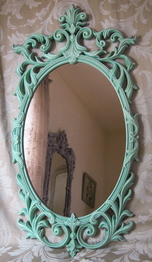 Drawn bugs ornate mirror Mirror on tattoos Oval Wall
